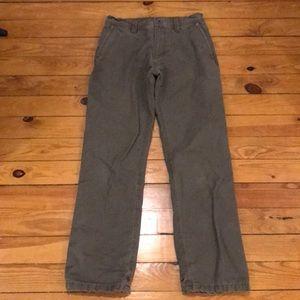 Eddie Bauer Fleece Lined Work Pants